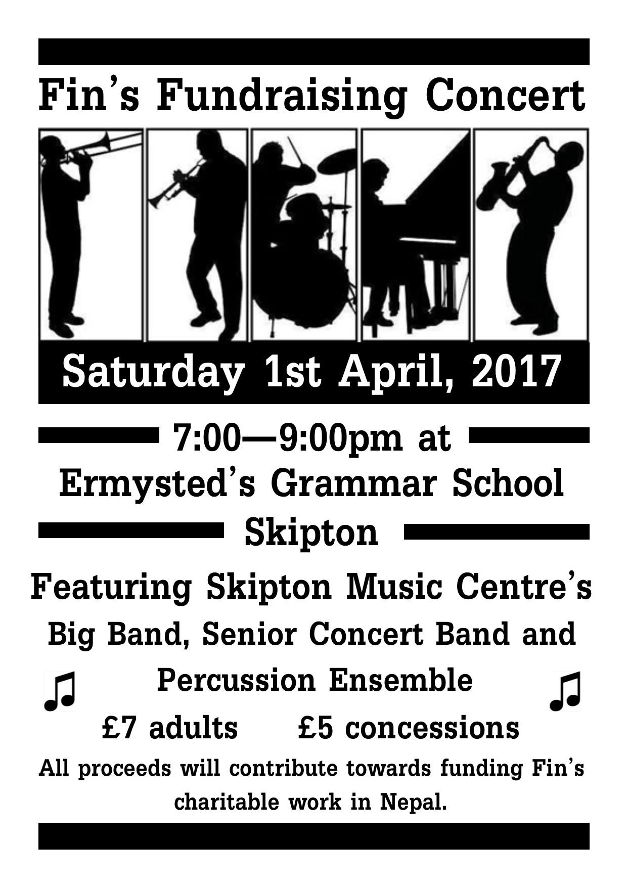 2016-2017 Fundraising Concert April